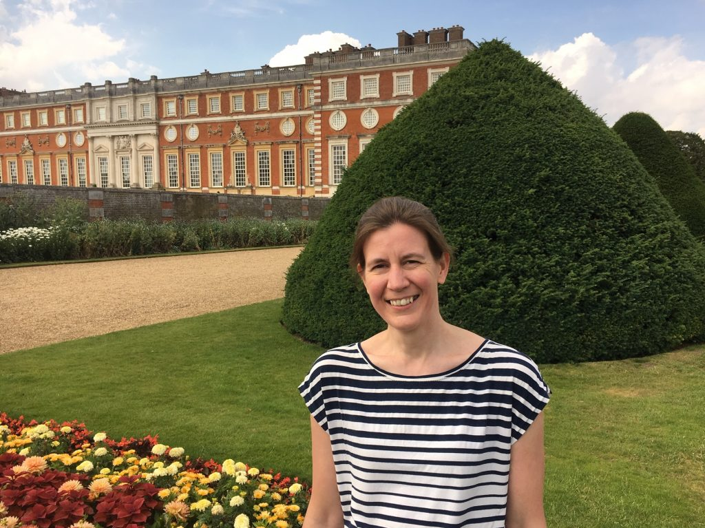 Alex at Hampton Court Palace